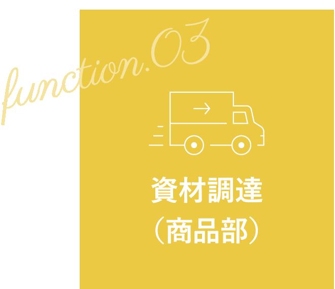 function.03 資材調達(商品部)